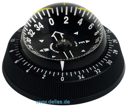 Kompass Silva 85 mit schwarzem oder weißem Ring