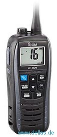 ICOM UKW-Handfunkgerät M25EURO Metallicgrau