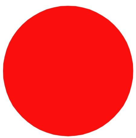 Fireball Klassenzeichen Rot zum Einkleben
