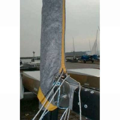 Mastpersenning Fibertex von Gronkjaer mit Reißverschluss Finn