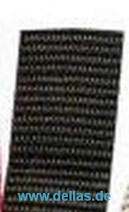 Gurtband 20 mm breit - Meterware Schwarz