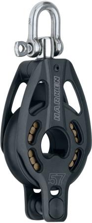 Black Magic Air Block 1 Scheibe mit Wirbel und Hundsfott 57 mm, 75 mm oder 100 mm