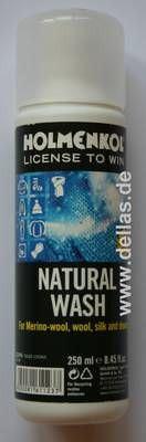 HOLMENKOL Natural Wash - Für Merino-Wolle, Wolle, Daune und Seide 250 ml