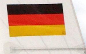 Nationalflagge zum Einkleben Finn/470