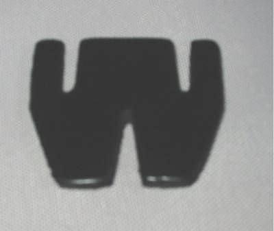 Schwertgummiplatte