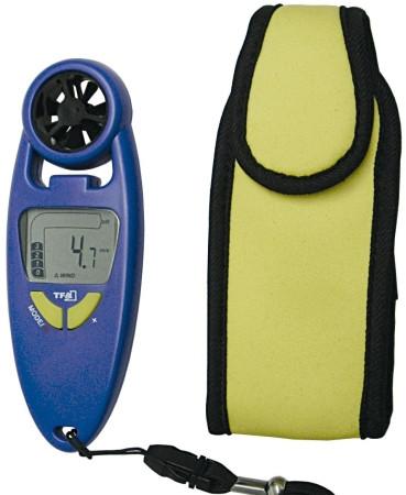 Windmesser mit Thermometer