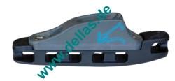 Clamcleat® AEROCLEAT mit Klemme Racing Junior MK1 3 - 6 mm -Harteloxiert-