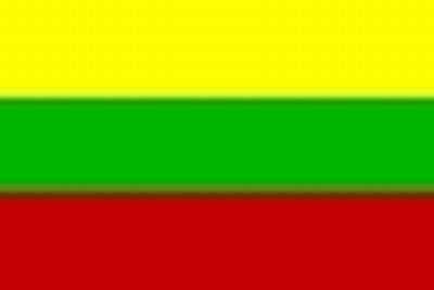 Nationalflagge Litauen