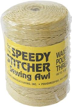 Grobes gewachstes Polyester Garn