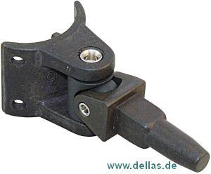 Lümmelbeschlag Allen, rec hteckig, 12,7 x 12,7 mm