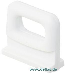 Spezial Göhlrutscher aus Nylon, weiß