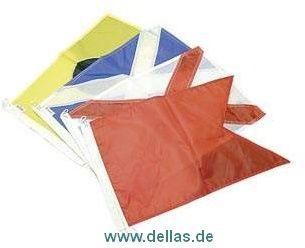"""Signalflaggen """"A"""" - """"Z"""", """"0"""" - """"9"""", Hilfsstander und Antwortwimpel"""