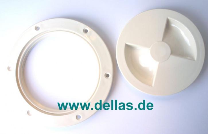 Inspektionsdeckel aus Luran S(Made in Germany) 4 Zoll