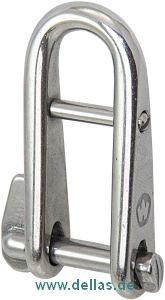 Wichard Schlüsselschäkel 5mm mit Steg (demontierbar)