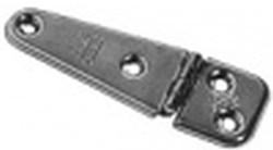 Edelstahlscharnier 74 x 20 mm