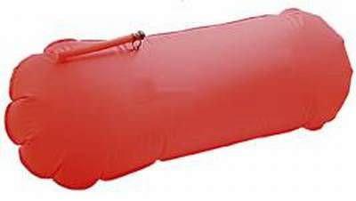 Auftriebskörper, rot mit Schlauch