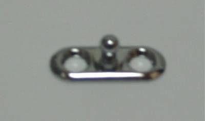 Tenax Unterteil für Schrauben 2x 3,5mm