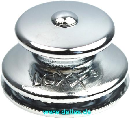 LOXX® Oberteil großer Kopf, Messing verchromt