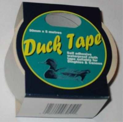 Wasserfestes Tape / Ducktape  Weiß