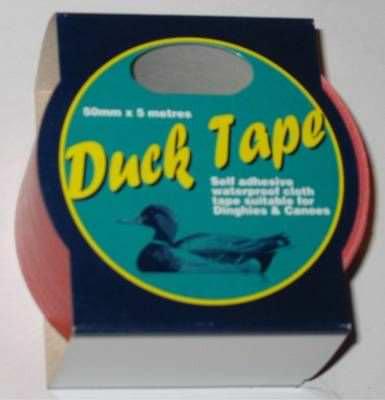 Wasserfestes Tape / Ducktape  Rot
