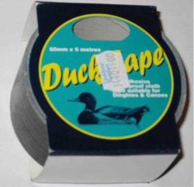 Wasserfestes Tape / Ducktape  Schwarz