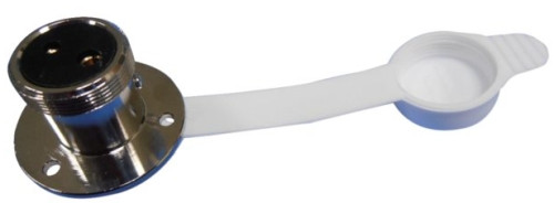 Steckdose 12 Volt 2-polig Kunstoffabdeckung