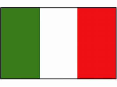 Nationalflagge Italien