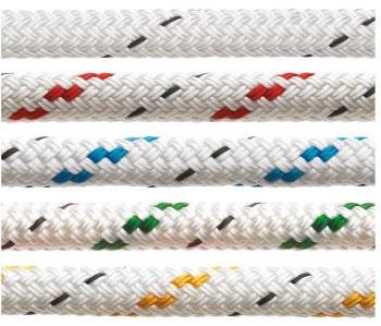 Fertiges Polyesterfall mit Schäkel, 10 mm, 30 m lang