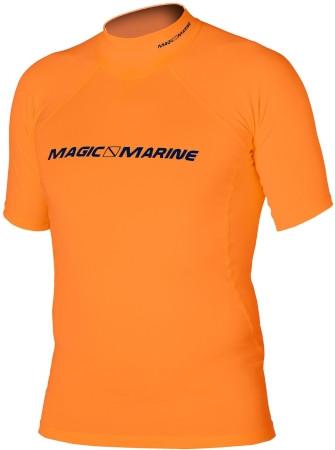 Magic Marine Cube Rash Shirt kurzärmlig Orange