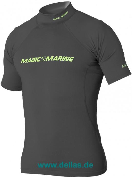 Magic Marine Cube Rash Shirt kurzärmlig Grau / L