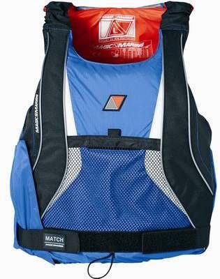 Magic Marine Regattaschwimmweste Match Jacket blau