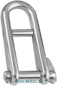 Schlüsselschäkel mit Steg AISI1316