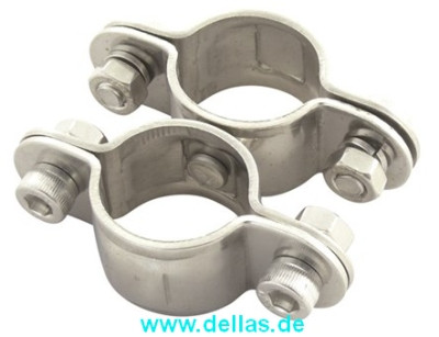 Rohrschelle - Doppelschelle mit Wirbel