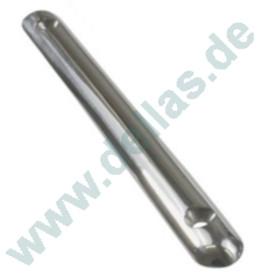 Kratzerstop, halbrund und massiv A4 AISI316 150 mm lang