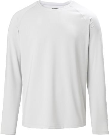 Musto Evolution Sunblock L/S T-Shirt L / Platinum