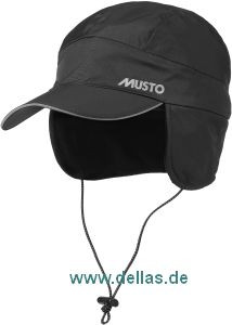 MUSTO Waterproof Cap, Fleece gefüttert