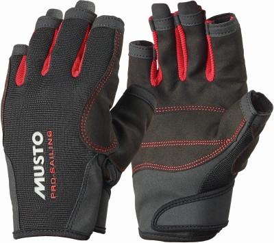Segelhandschuhe MUSTO Essential Sailing Gloves Schwarz, 5 Fi. geschn.