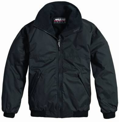 MUSTO SNUG BLOUSON Jacket Black/Black Größe S