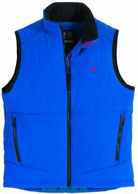 Musto Weste LIGHT GILET CADET BLUE