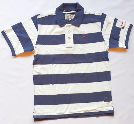 Musto Block Stripe Jersey Polo-Shirt kurzärmlig
