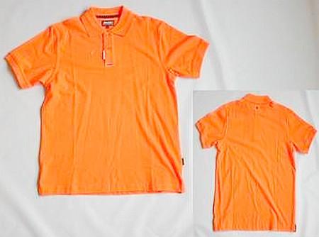 Musto Piqué Polo-Shirt kurzärmlig Orange