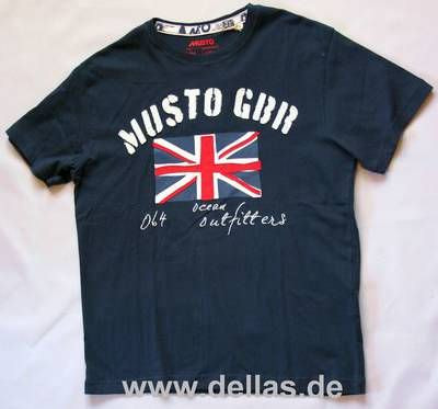 Musto SUNSTROM T-Shirt kurzärmlig, Navy Größe L