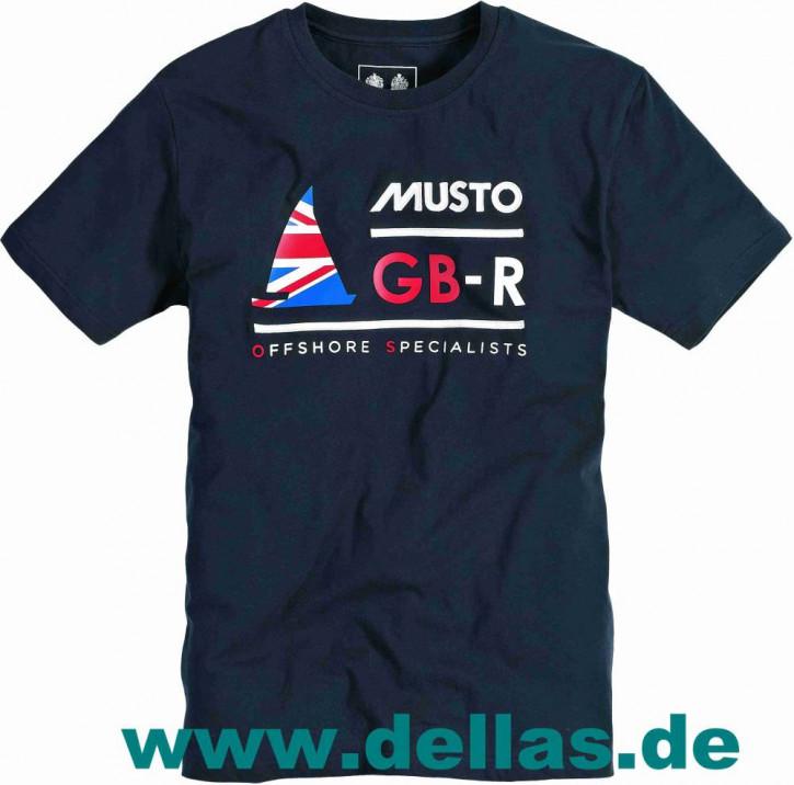 Musto GBR T-Shirt Navy
