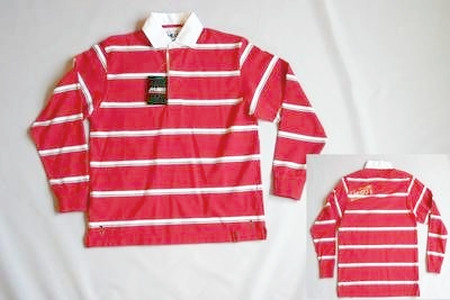 Musto Classic Stripe Rugby Shirt langärmlig