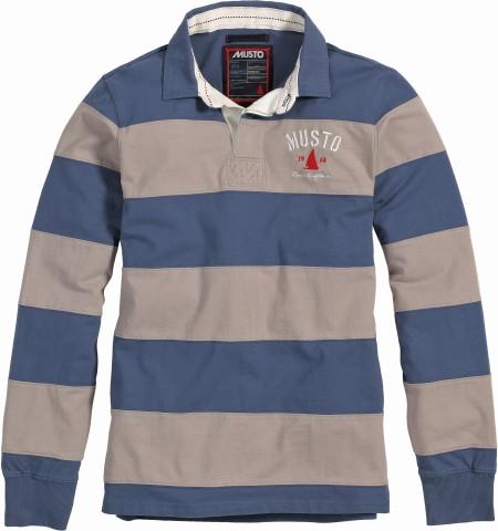 Musto Langarm-Rugby-Shirt Benfleet