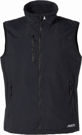 Musto Corsica Gillet - Weste Schwarz Größe XL