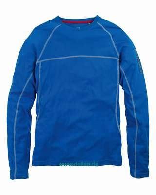 Evolution Sunblock Shirt langärmlig Marineblau SPF40