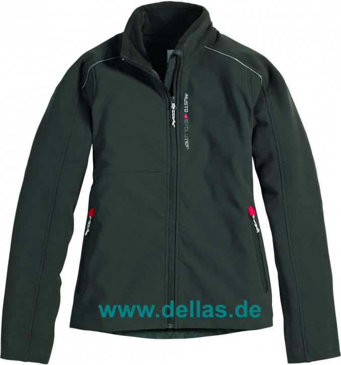 MUSTO LADIES SOFT SHELL JACKET Größe 44