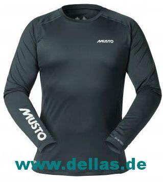 MUSTO EVOLUTION DYNAMIC T-Shirt langärmlig (SPF 40) Herren carbon XXL