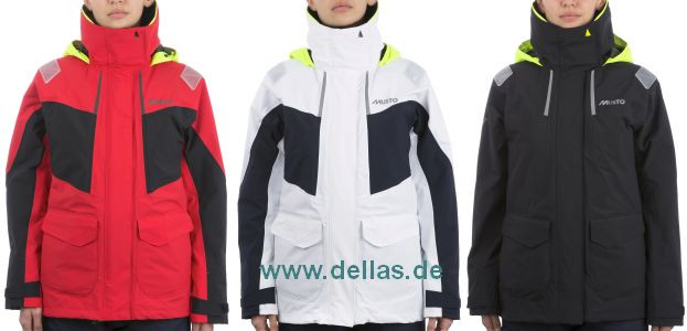 MUSTO Breathable BR2 Coastal Segeljacke Frauen